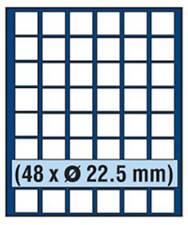 SAFE 6822 NOVA Element exquisite Holz-Münzbox für 48 Münzen mit 22,5 mm Durchmes
