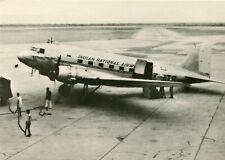 INDIAN NATIONAL AIRWAYS - DOUGLAS DC-3 - POSTCARD VIEW