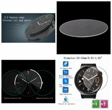Round Universal Smart Watch Tempered Glass Screen Protector Film 23-42mm