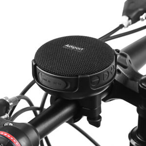 Bike Speaker,Bluetooth 5.0 Wireless Bicycle Speakers with Mount&Micro SD slot