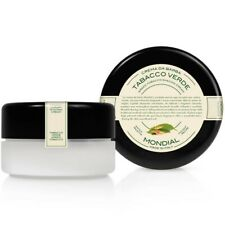 Mondial Luxury Italian Shaving Cream Green Tobacco In Jar 140ml