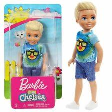 BARBIE CLUB CHELSEA DOLL FRL83 EMOJI TIE DYE NEW IN BOX BLONDE BOY BLUE EYES