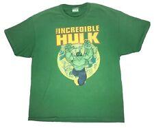The Incredible Hulk XL Classic Men's T Shirt Green