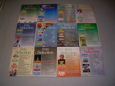 #10 Lot of all 12 months Sélection du Reader's Digest Complete Year 1989 Connery