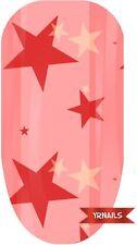 Nail WRAPS Nail Art Water Transfers Decals - Rhubarb & Custars - W017