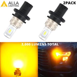 LED Yellow Rear Turn Signal Light Bulb Blinker for MERCEDES-BENZ Lincoln MKZ