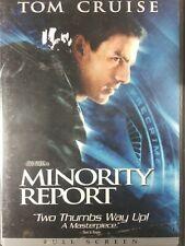 Minority Report (Dvd, 2-Disc Set, Widescreen) Tom Cruise