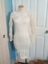 bebe lace midi dress s. #772