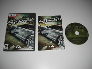 Need For Speed MOST WANTED Pc DVD Rom Original NFS with Manual - FAST DISPATCH