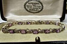 Amethyst Bracelet Vintage Fine Jewellery (Unknown Period)
