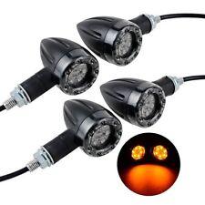 4 X Motorcycle Bike LED Amber Turn Signal Blinker light Indicator Universal Bulb