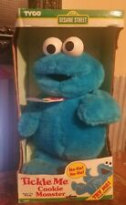 1997 Tickle Me Cookie Monster NIB Never Opened Not Tested