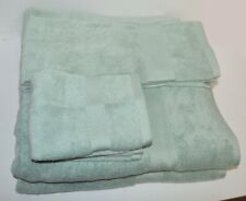 Martex Abundance Silver Sage Green 6P Towel Set Bath Hand Washcloth New