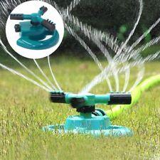 Garden Sprinkler Spray 360° Rotating Impulse Lawn Grass Watering Hose System New
