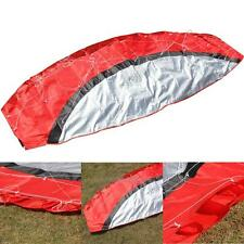 2.5m Outdoor Toys Dual Line Parafoil Parachute Stunt Sport Red Kite Kids Gift