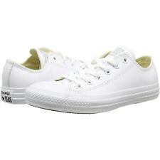 82f710df985a Converse Chuck Taylor All Star Leather 136823c - White Mens Trainers 6 UK