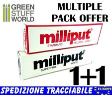Stucco Milliput COMBOx2 = 1xStandard + 1xBianco - Colla Epossidica Warhammer