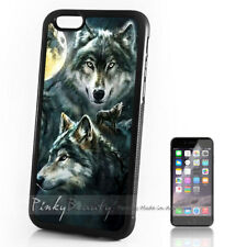 ( For iPhone 4 / 4S ) Back Case Cover P30045 Wolf