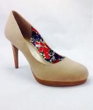 Stiletto Court Textured Textile Heels for Women