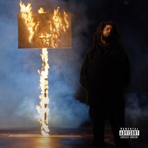 "The Off-Season J. Cole Album Poster 24x24"" 32x32"" Music Cover Art Silk Print"