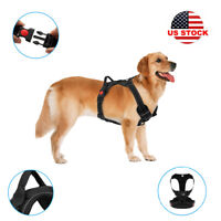 GIYOOMI Dog Harness No-Pull Pet Control Adjustable Reflective Collar Soft Vest