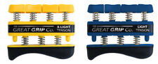The GREAT GRIP™ TWO PACK X-Lt & Lt (3 lb & 5 lb finger) LIFETIME WARRANTY