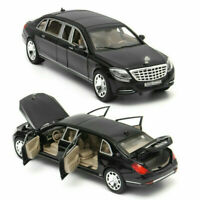 S650 Mercedes Maybach Diecast Metal Model Alloy Car Gift Doors Open Toys 1:32