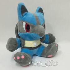"Nintendo Pokemon Lucario #448 Plush Soft Toy Stuffed Animal Doll Teddy Figure 7"""