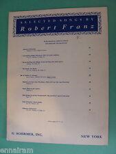 Robert Franz Op 17 No 6 Im Herbst In Autumn German English lyrics piano