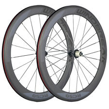 38/50/60/88mm Carbon Wheelset 700C Road Bicycle Cycle Wheels with Basalt Brake