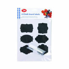 Tala Stylish Reusable Chalk Board Labels Set of 6 Pieces