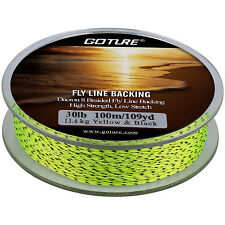 100M/109yds Fly Fishing Backing Line 8 Strands 30LB Dacron Braided Line