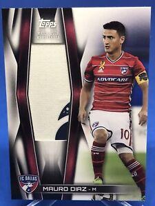 Mauro Diaz 2018 Topps MLS Jumbo Relic 37/95 FC Dallas