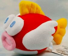 SUPER MARIO BROS. PESCE SMACK PELUCHE 18Cm. - Plush Cheep Cheep Princess Pupazzo