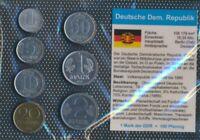 DDR vorzüglich Kursmünzen vorzüglich 1957-1987 1 Pfennig bis 2 Mark (9164982