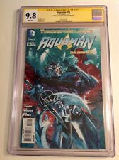 CGC 9.8 SS Aquaman #14 signed by Patrick Wilson Ocean Master Orm movie