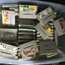 WHOLESALE LOT of 20 Random Nintendo Super Famicom Games SFC SNES Japan Import