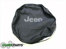 1997-2017 Jeep Wrangler & 2002-2007 Jeep Liberty Spare Tire Anti-Theft Cover OEM
