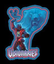 80's Cartoon Classic Visionaries Cryotek Toy Art custom tee Any Size Any Color