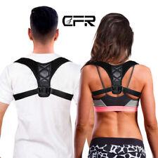 CFR Medical Posture Corrector Back Slouch Support Brace Shoulder Belt Women Men