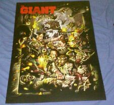 The Giant Call of Duty Black Ops 3 Poster Zombies 2015 rare