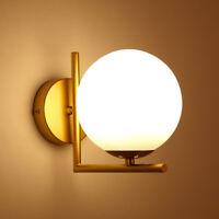 Bola de cristal Pantalla Lámparas de pared Aplique de metal Aplique Iluminación