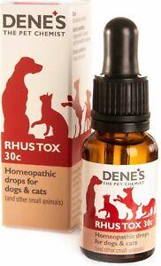 Denes Homeopathic Rhus Tox 30c 15ml