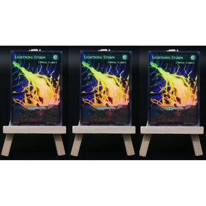Yugioh ORICA 3x-Playset: Lightning Storm Full-Art | Holo Card Custom