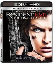 RESIDENT EVIL: The Final Chapter (BLU-RAY 4H UHD + BLU-RAY) Milla Jovovich