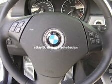 CRYSTAL STEERING WHEEL BADGE RIM (MADE WITH SWAROVSKI) FOR BMW E90 E91 E92 E93