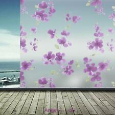 60*200cm Privacy Film Room Bathroom Home PVC Flower Frosted Window Glass Sticker