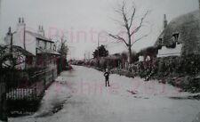 "PRINT 10"" X 7""  LITTLE LONDON - QUIET LANE NR BASINGSTOKE HAMPSHIRE C1910"