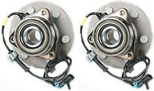 Hub Bearing for 2004 GMC Yukon 4WD/AWD ONLY-6 STUD Front Pair
