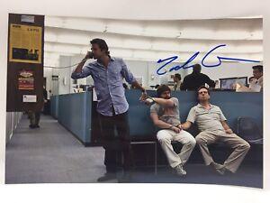 RARE Zach Galifianakis The Hangover Signed Photo + COA AUTOGRAPH
